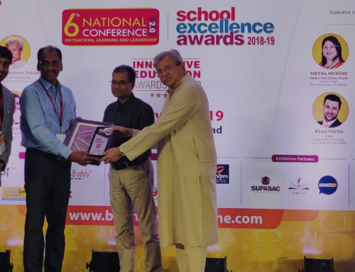 Ongole Public School Receives School Of Excellence Award